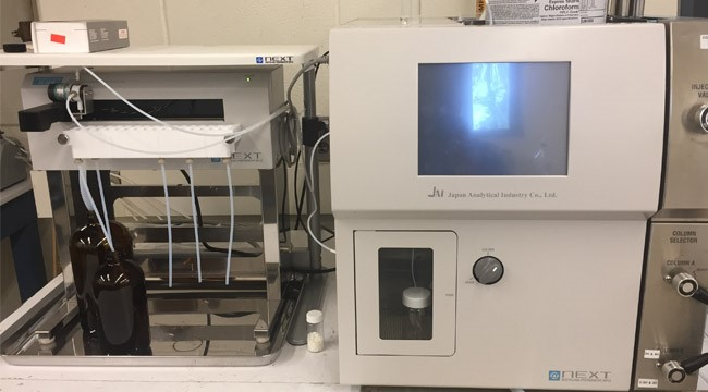 JAI LC9110 NEXT Recycling Preparative HPLC/GPC